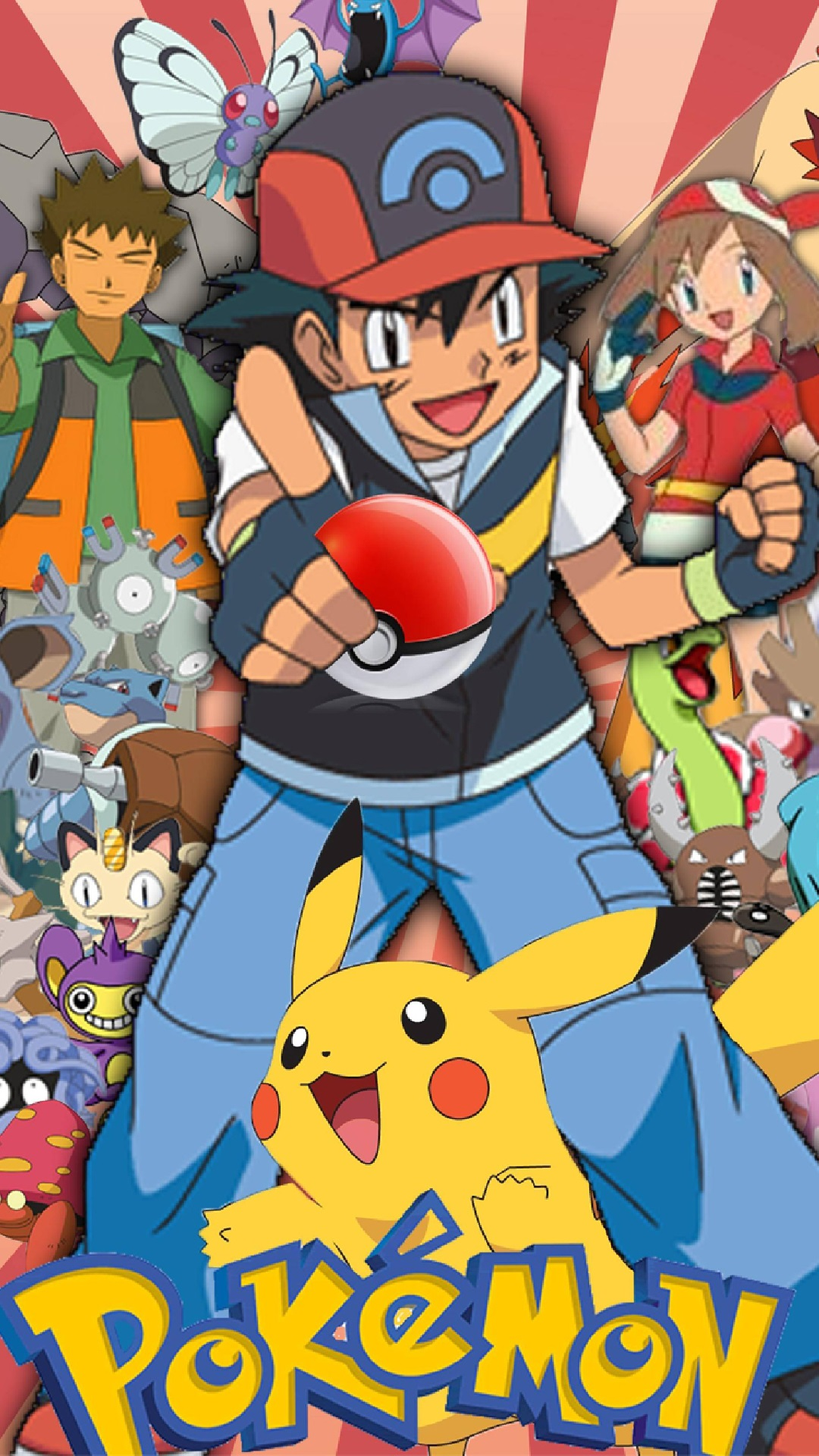 Pokemon Go old and new charecters Iphone hd wallpaper - Wallect