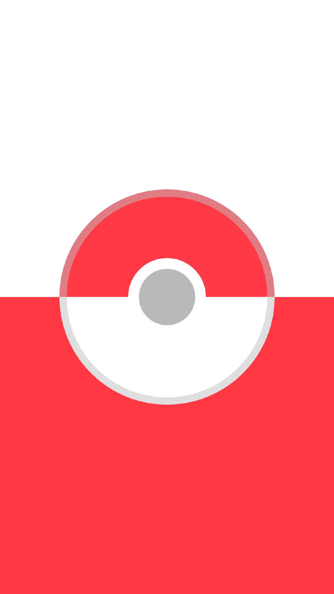 Pokemon Go Pokeball Red Iphone Hd Wallpaper