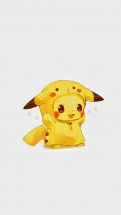 Pokemon Go pikachu sleeping dress Iphone hd wallpaper