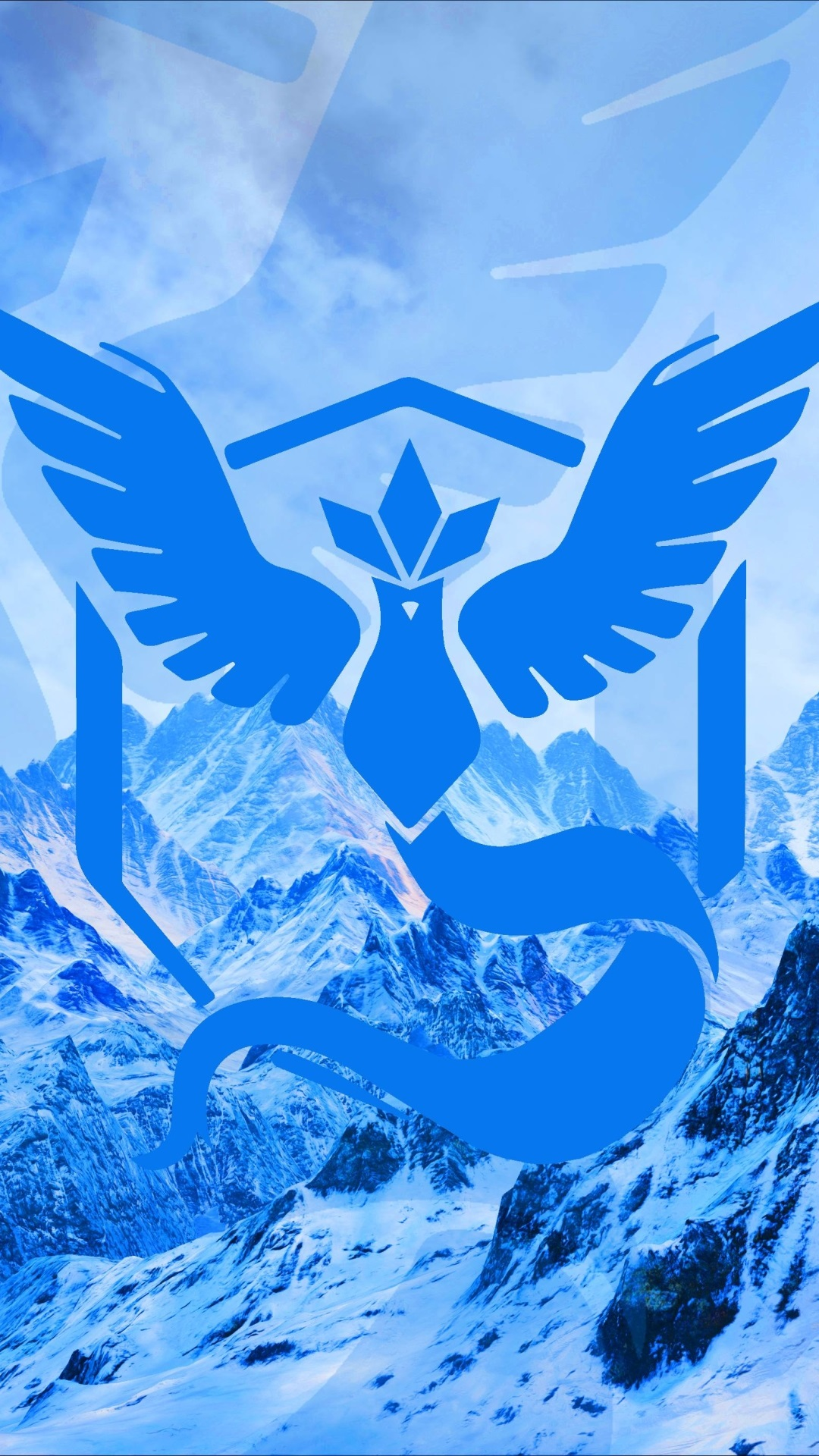 Pokemon Go team mystic cold blue (2) Iphone hd wallpaper - Wallect