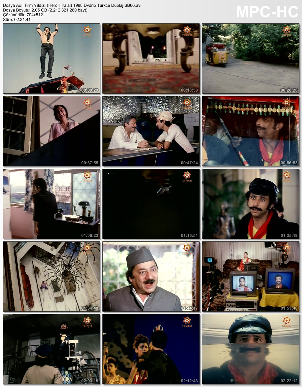Film Yıldızı (Hero Hiralal) 1988 Dvdrip Türkce Dublaj BB66 (7) - barbarus