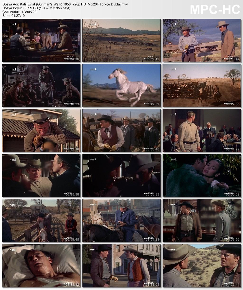 Katil Evlat (Gunman's Walk) 1958  720p HDTV x264 Türkçe Dublaj - barbarus