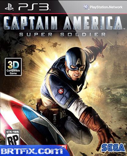 Captain America Super Soldier [PS3] Full indir