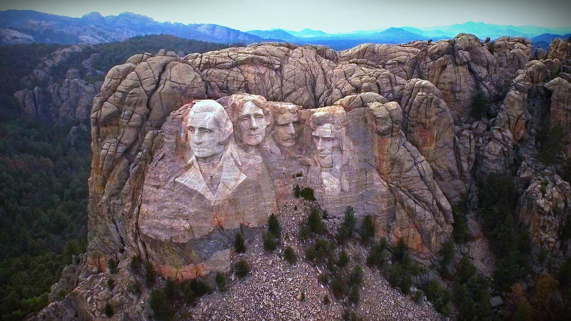 Mt Rushmore Flyove