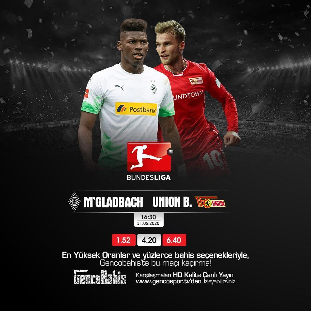 31.05.2020 M'Gladbach - Union Berlin