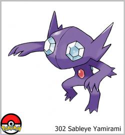 302 Sableye Yamirami