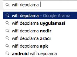 wifi depolama