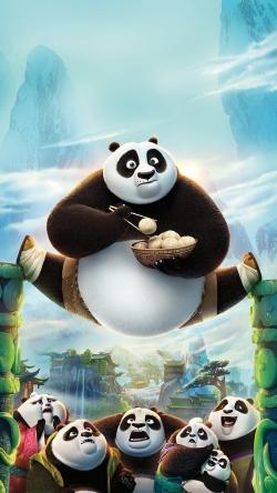 Panda familie