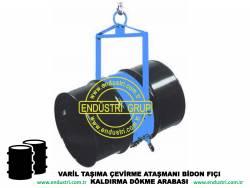 varil taşıma arabası varil devirme kaldırma boşaltma elleçleme paletleme yerleştirme dökme ataşmanı fiyatı (21)